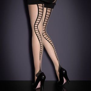 Agent provocateur snake stockings